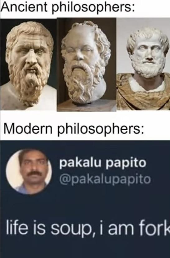 So modern