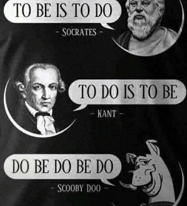 Scooby, the philosopher