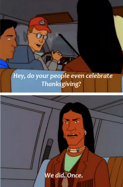 Classic bit from 'King Of The Hill'
