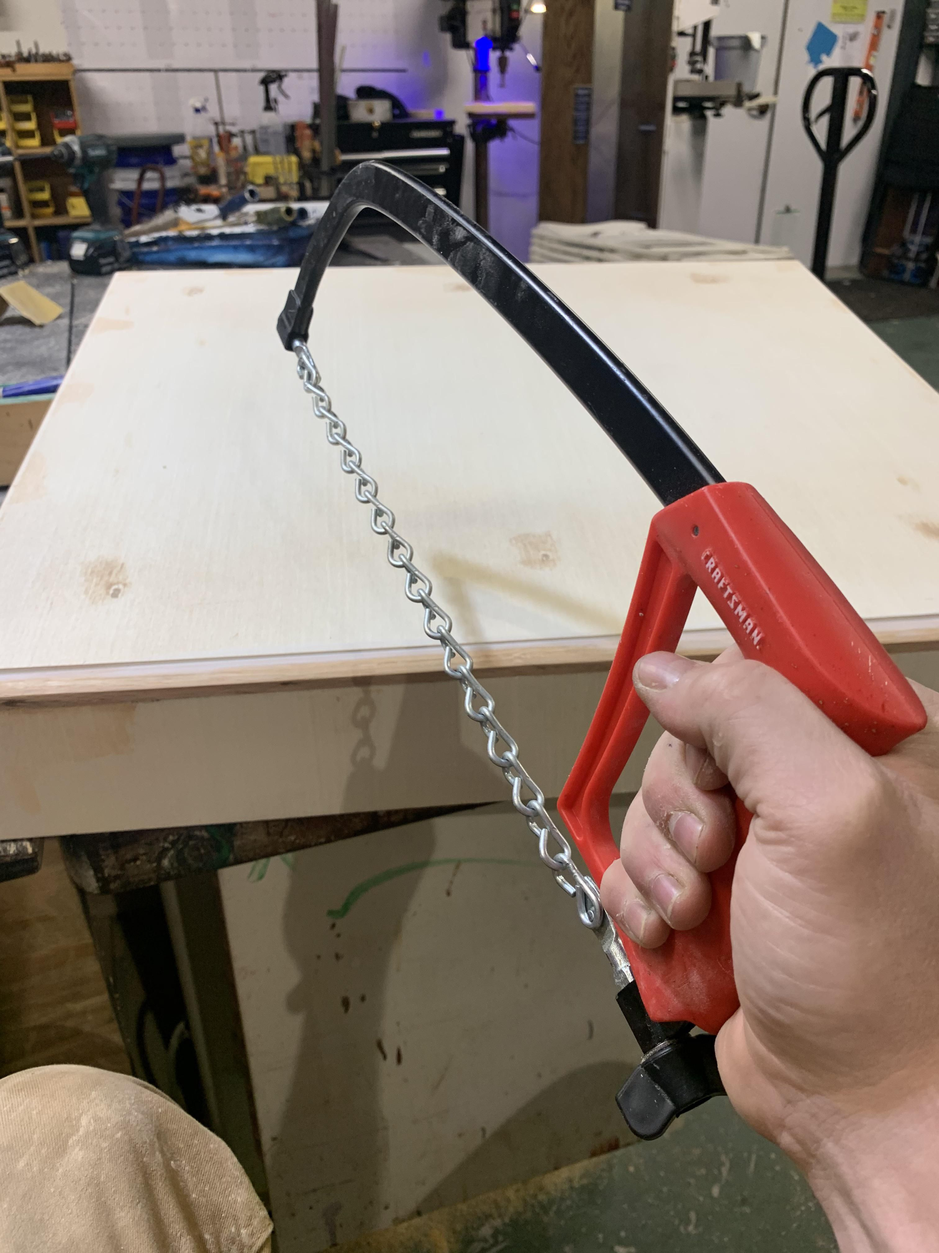 My first ever custom built chainsaw