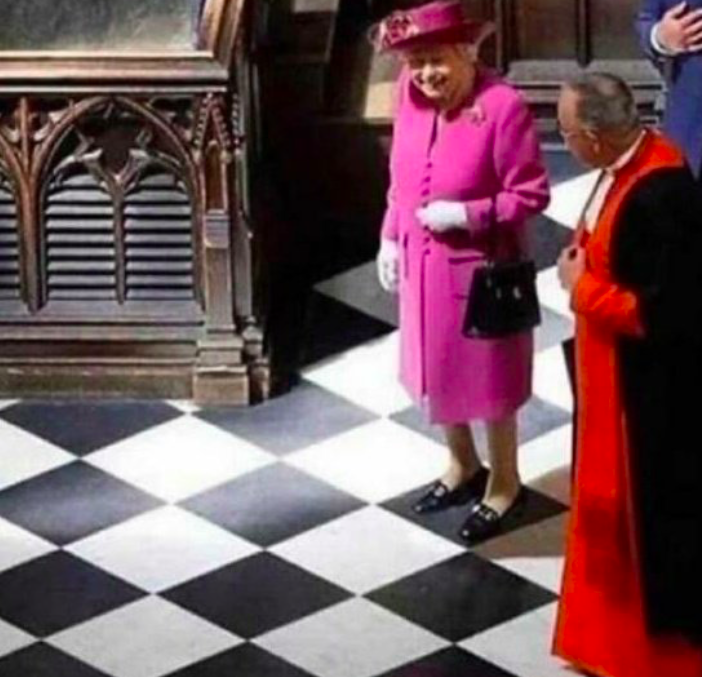 He needs to be careful! She can move in any direction!
