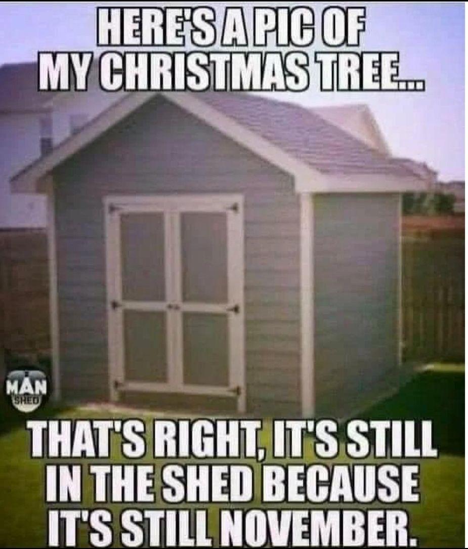 Don't start that December thing yet...