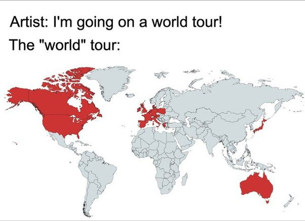 For rest of the world