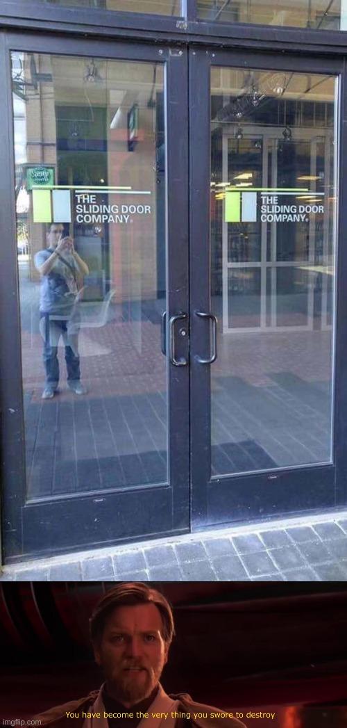 The Sliding Door Company doesn't use sliding doors.
