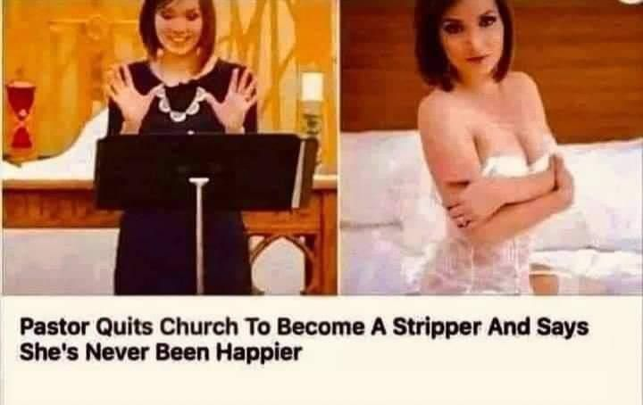 At least now she is making an honest living now