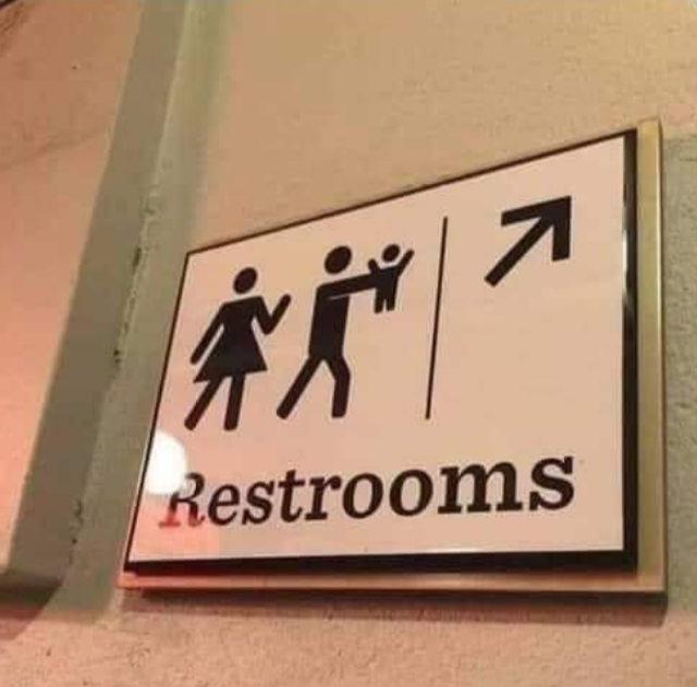 The restroom requires a sacrifice