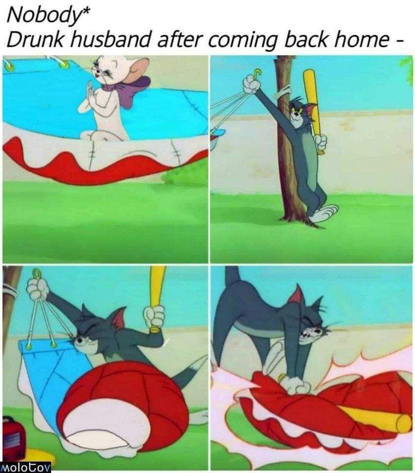 Gotta love Tom & Jerry memes