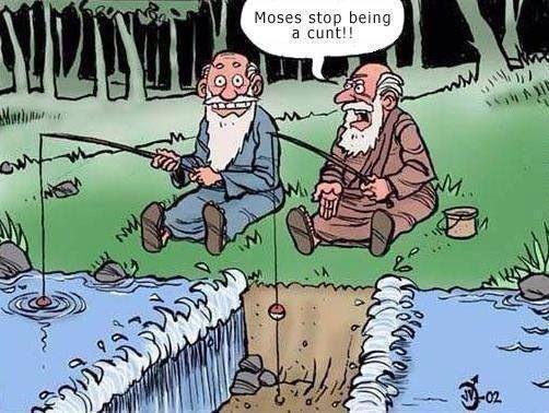 Moses got jokes