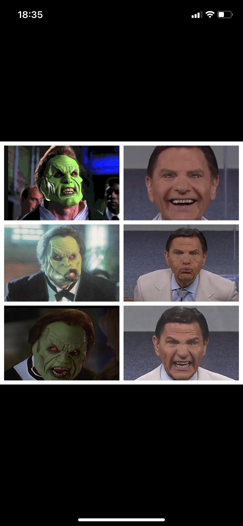 Dorian VS. Kenneth Copeland. You're welcome.
