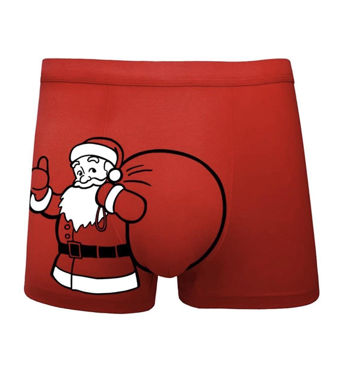 Santa's got a big package!
