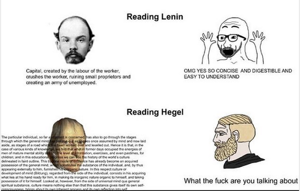 Read hegel.