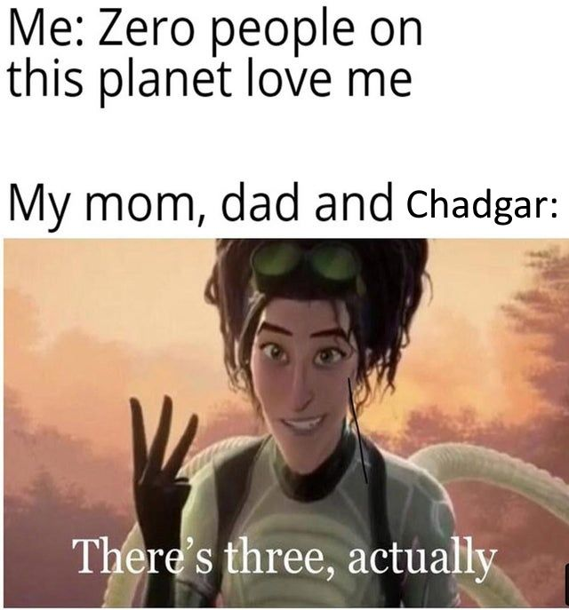 There is a Chadgar inside all of you frens