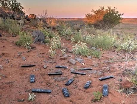 A remote place in Australia