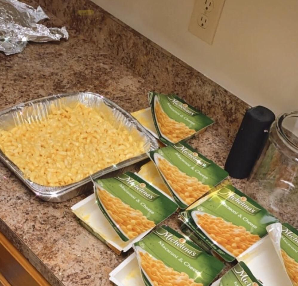 Famous mac and cheese recipe. Don't tell anyone but the secret ingredient is love!