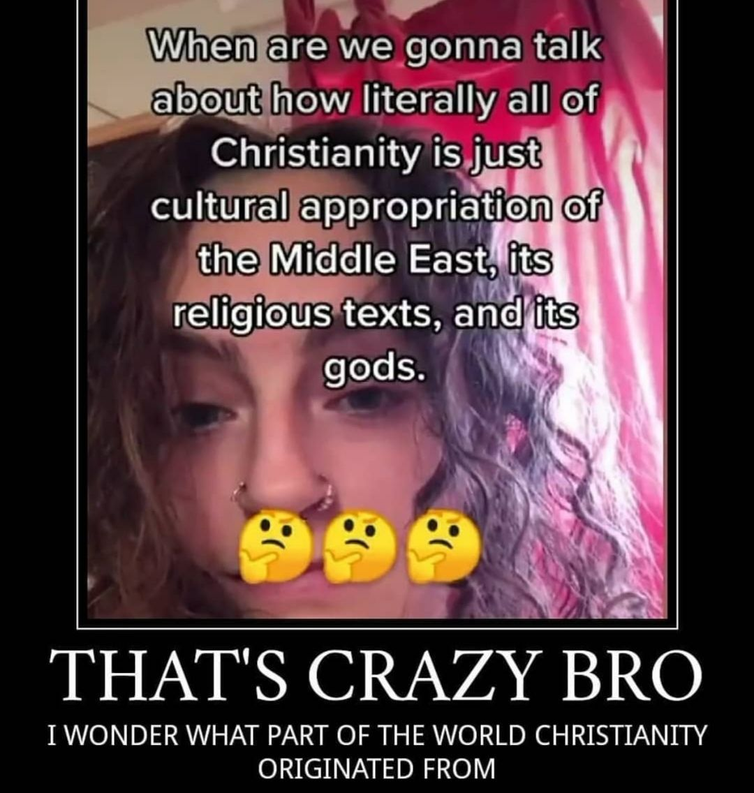 b-but christianity is WHITE JESUS WAS WHITE HE WAS I SWEAR HE WAS WHITE I DON'T CARE