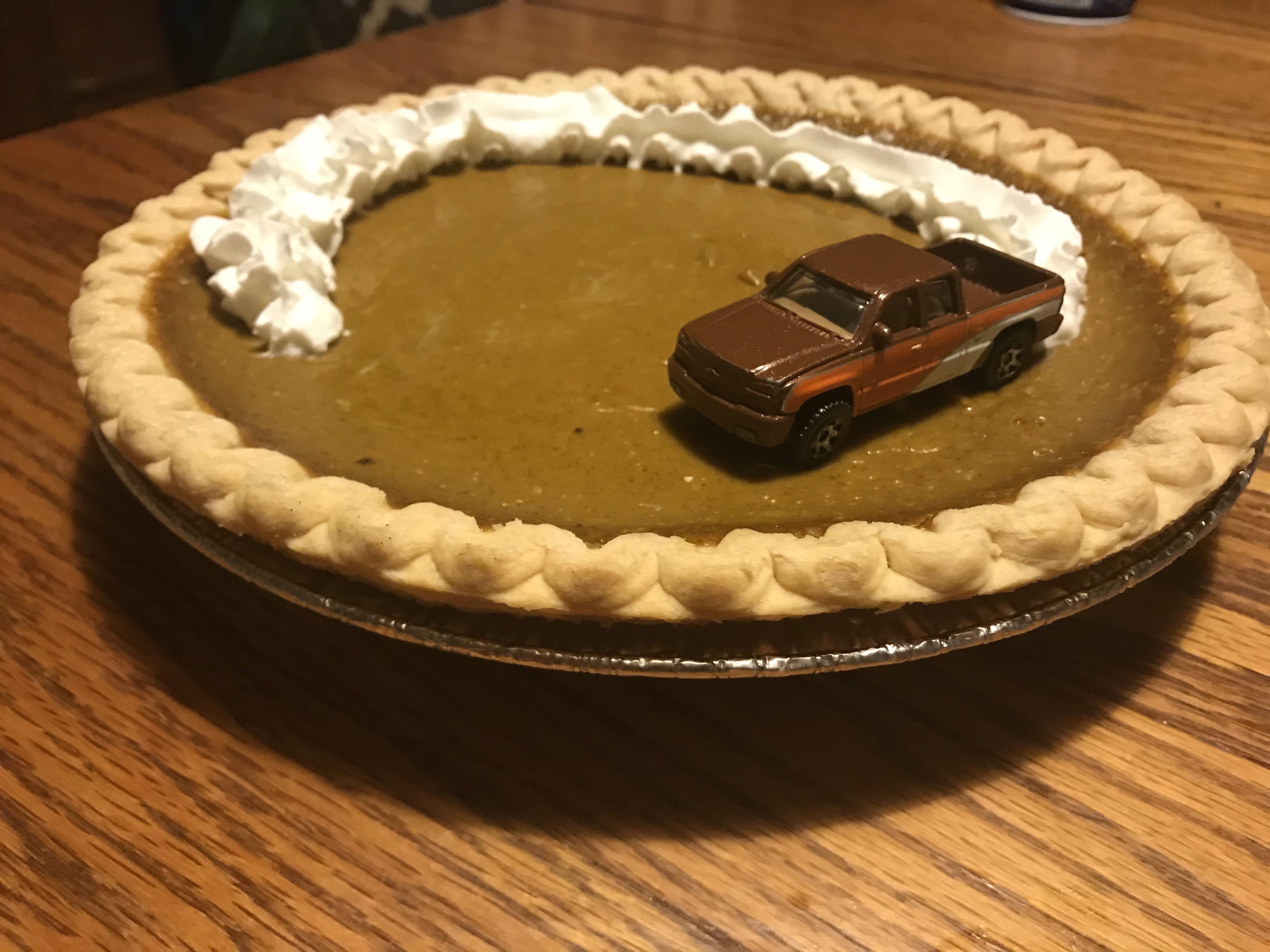 My Moms Thanksgiving Pie