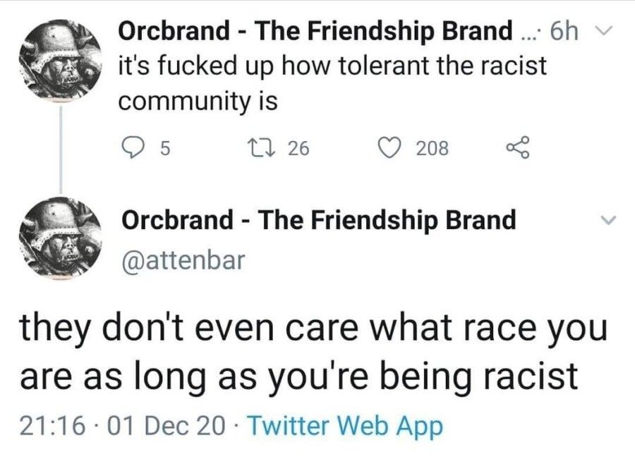 If everyone is racist, then no one is