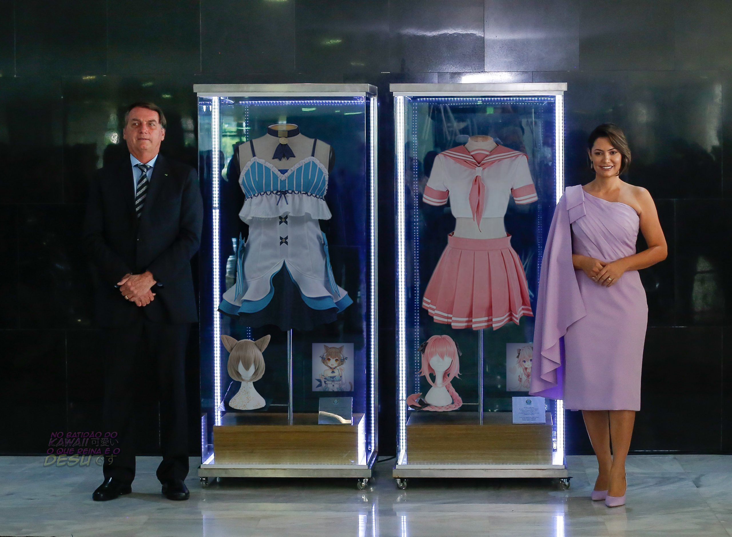 Brazilian expo on Bolsonaro's campaign clothes