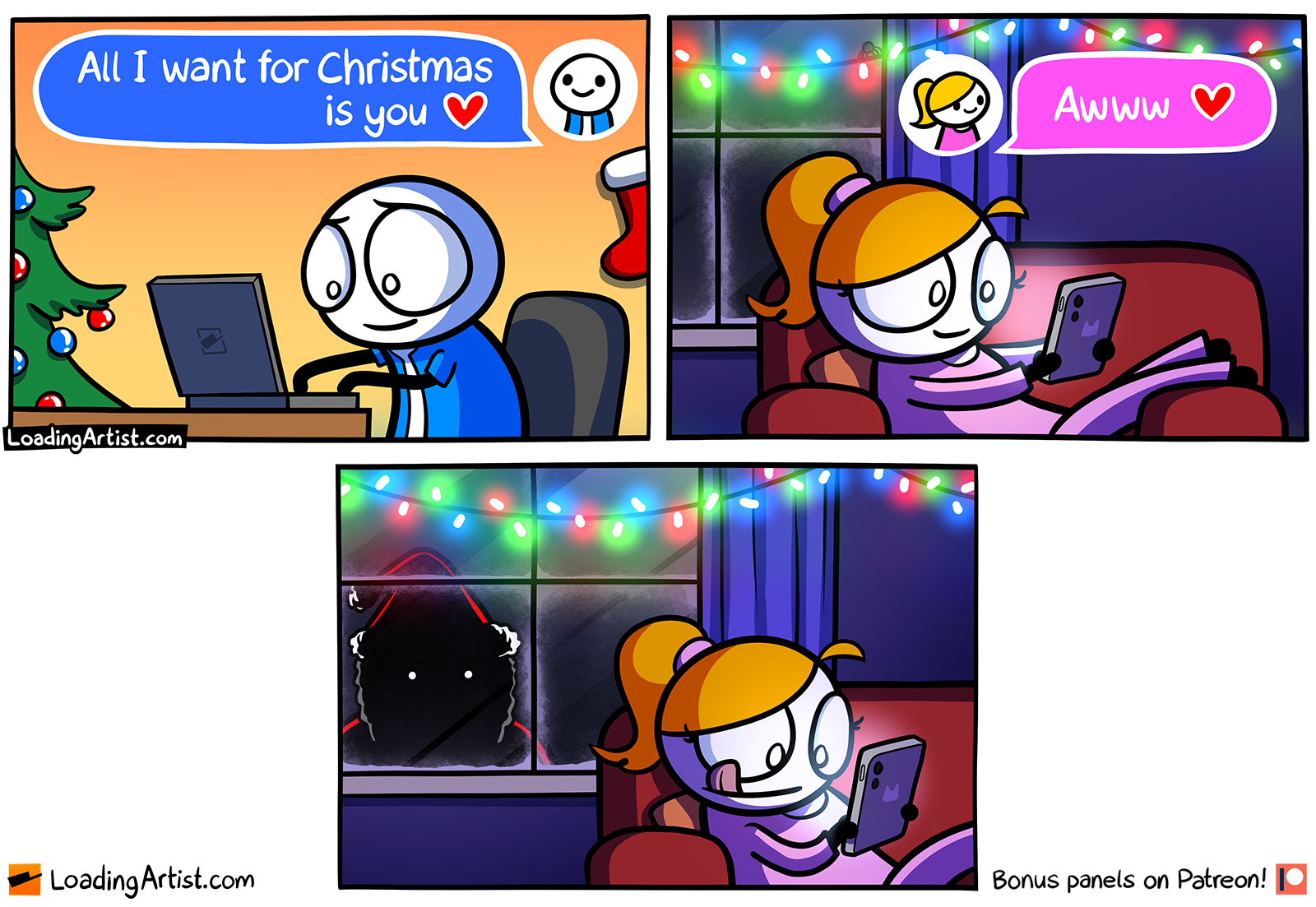 All I want for Christmas is you <3