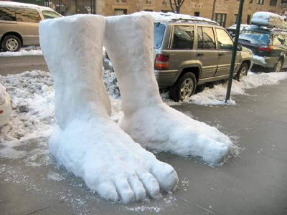 Two Feet of Snow...