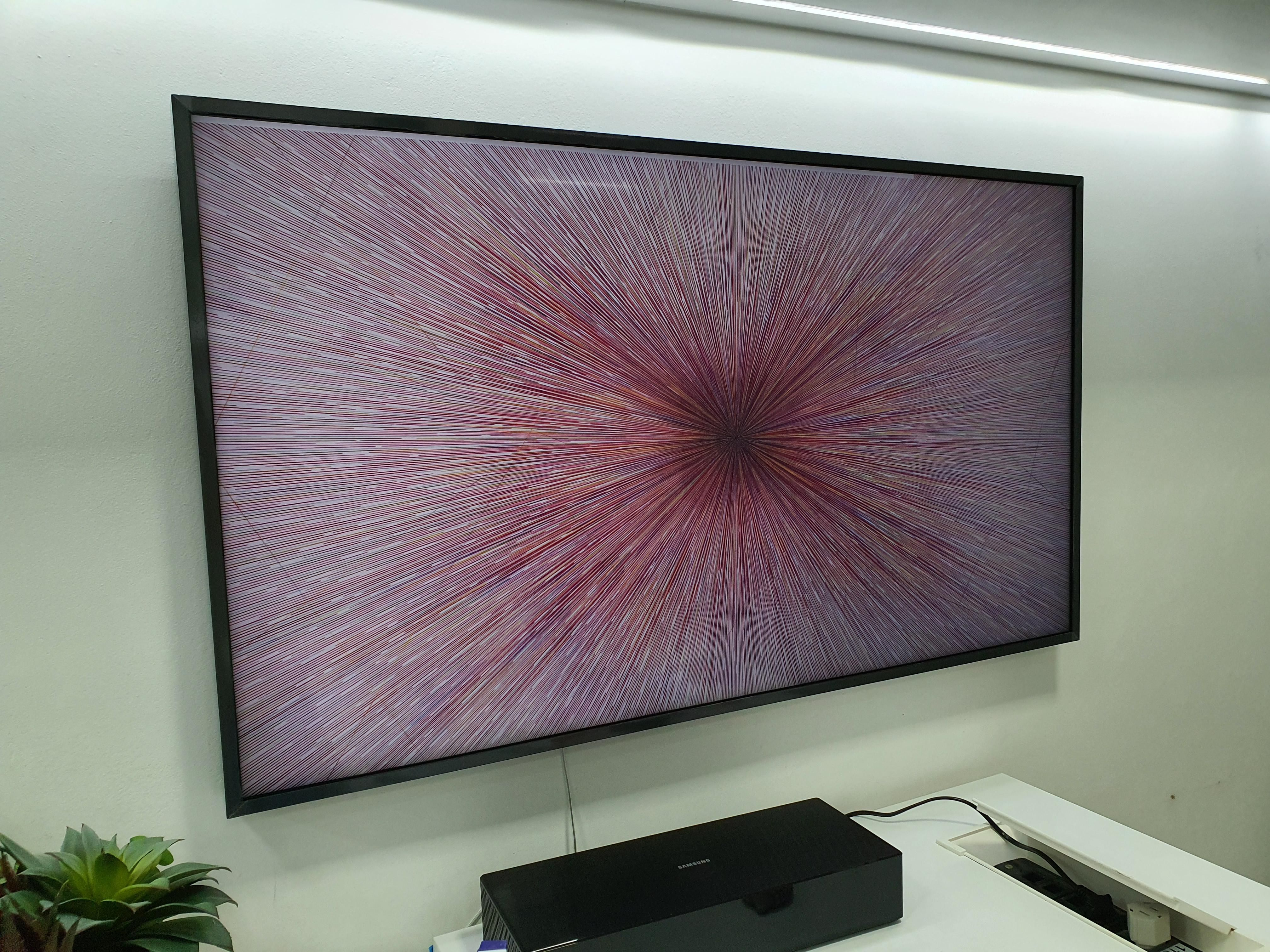 This piece of art on samsung The Frame gallery makes your tv look like a giant ahole