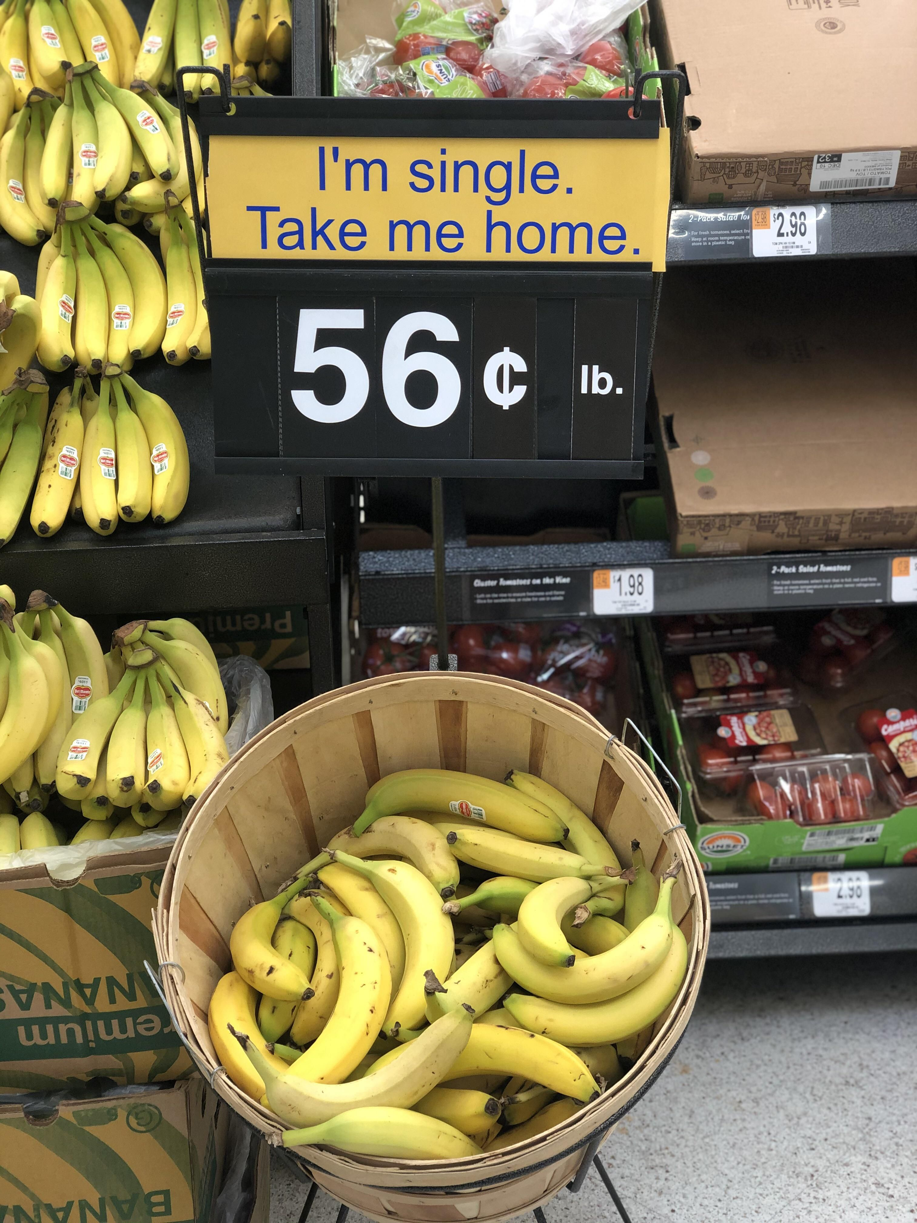 Saw this sign at the grocery store today