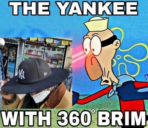tips yankee with 360 brim