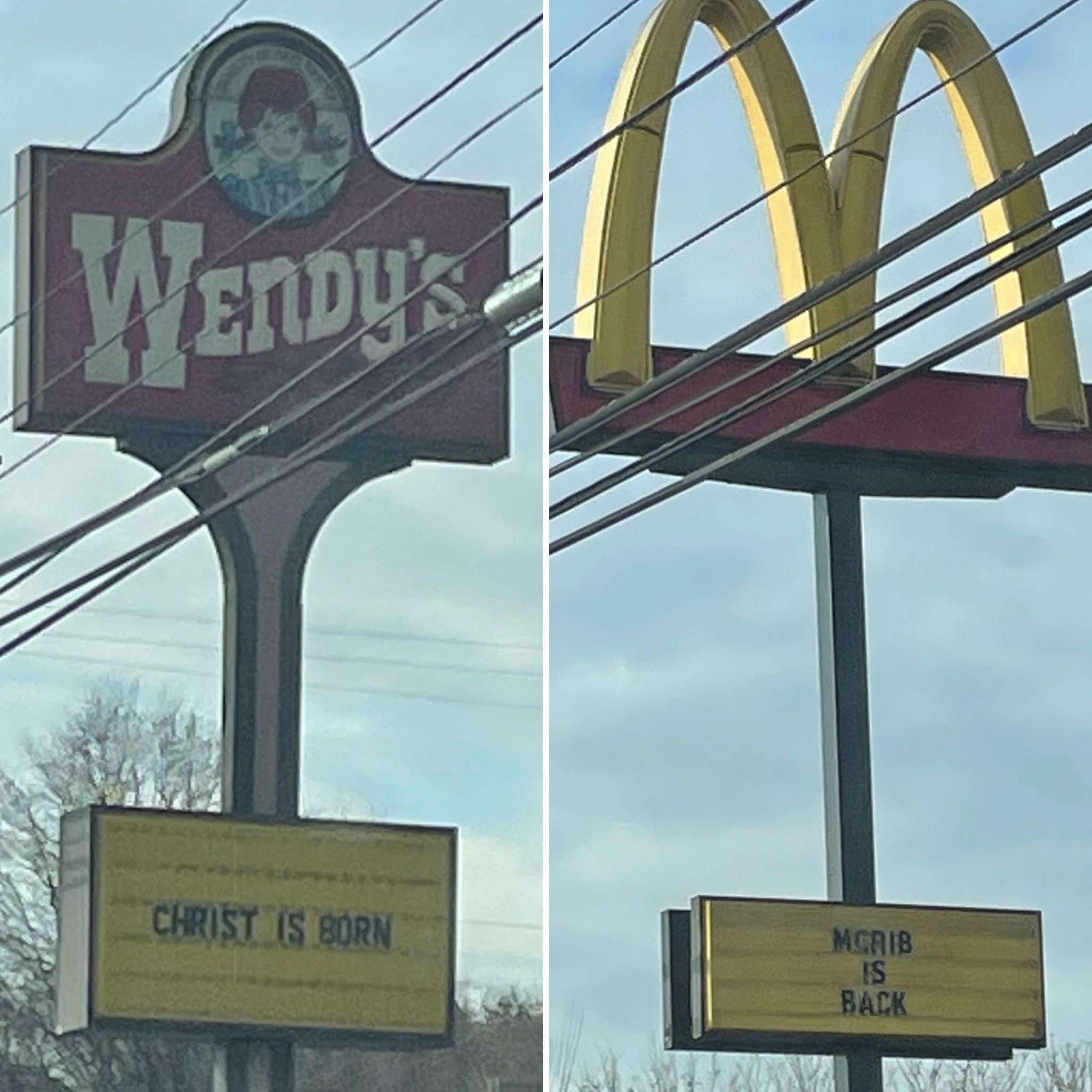 A Tale Of Two Restaurants