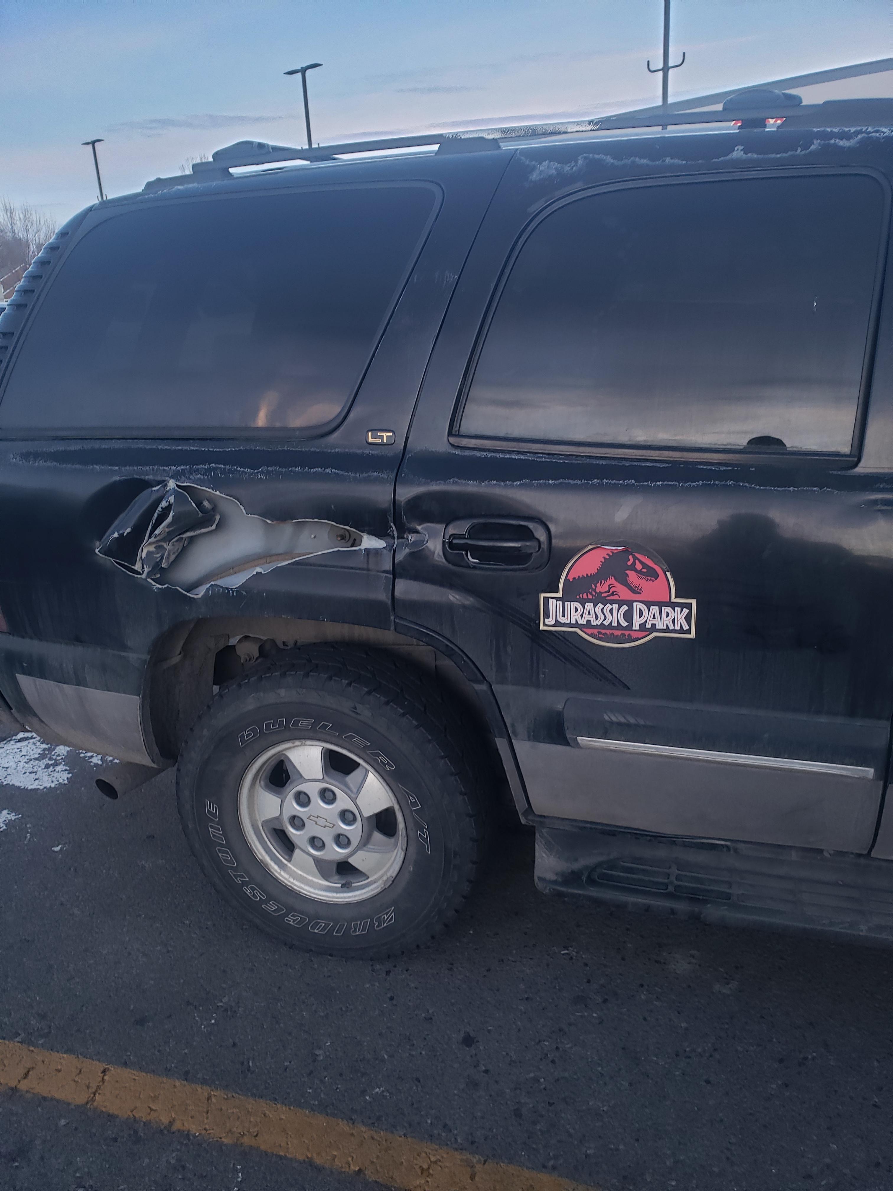 Cheap, easy, self-adhesive auto repair!