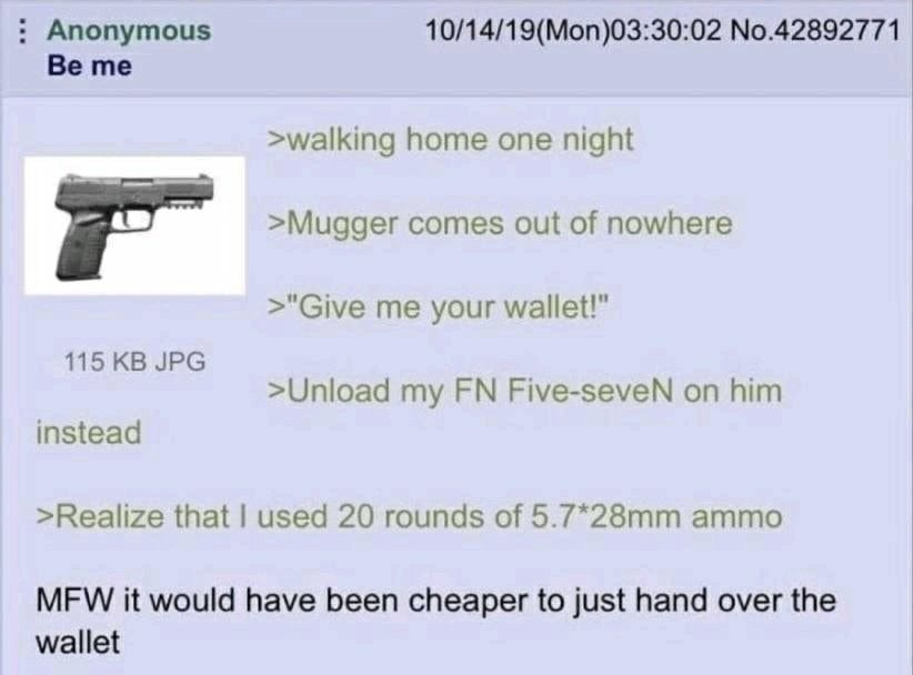Accurate I have an FN 5.7 and this is true AF