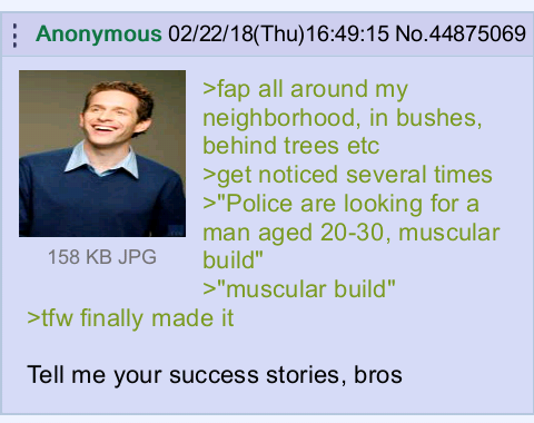 Anon has gains