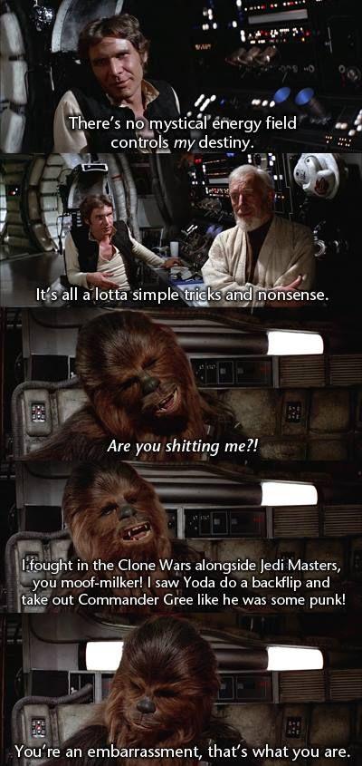 Get him Chewie!