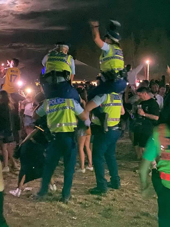 Meanwhile, NYE in New Zealand