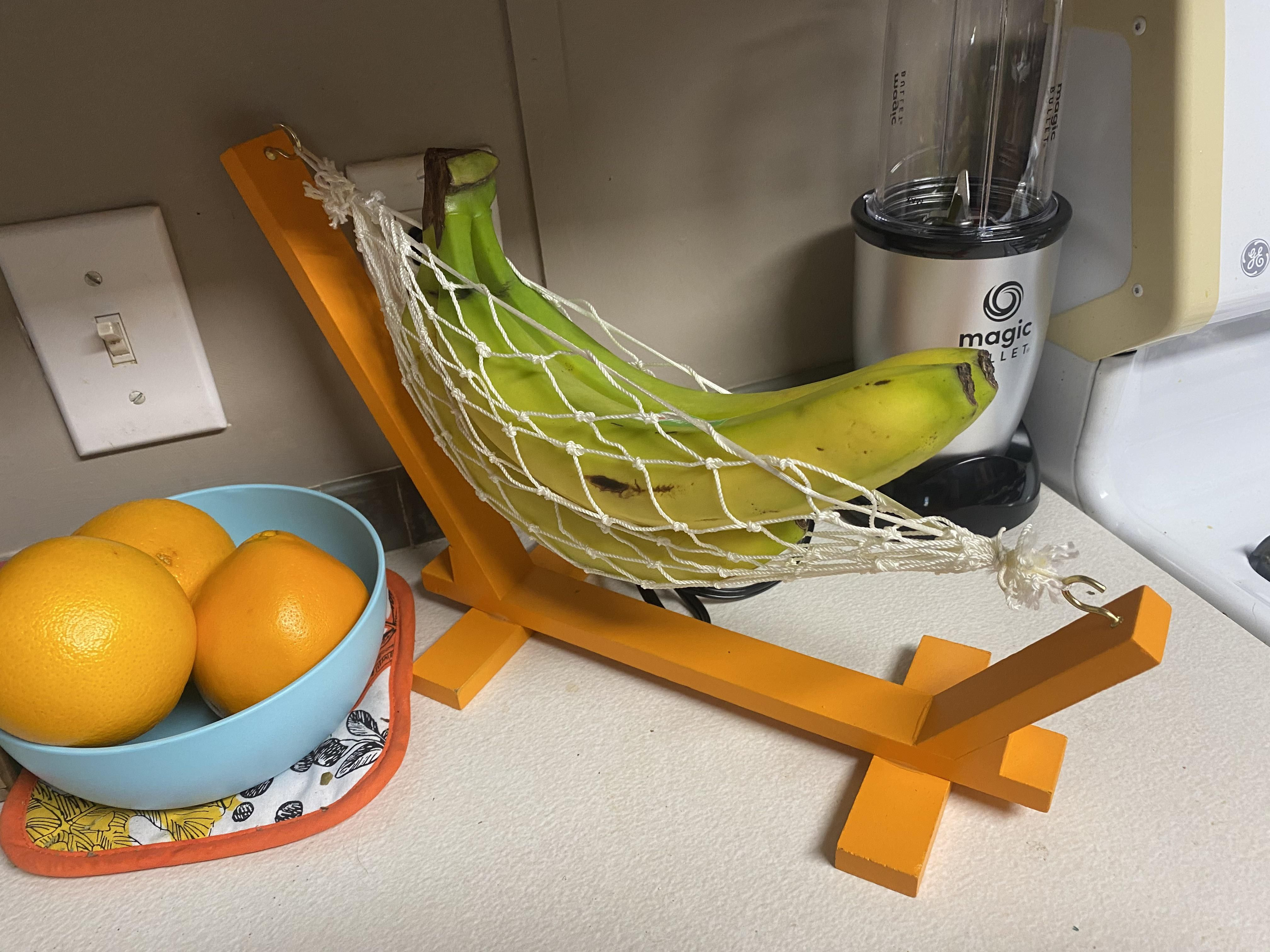 My new house came with this little hammock thing. So it's now my banana hammock