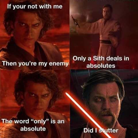 Good thing Obi won