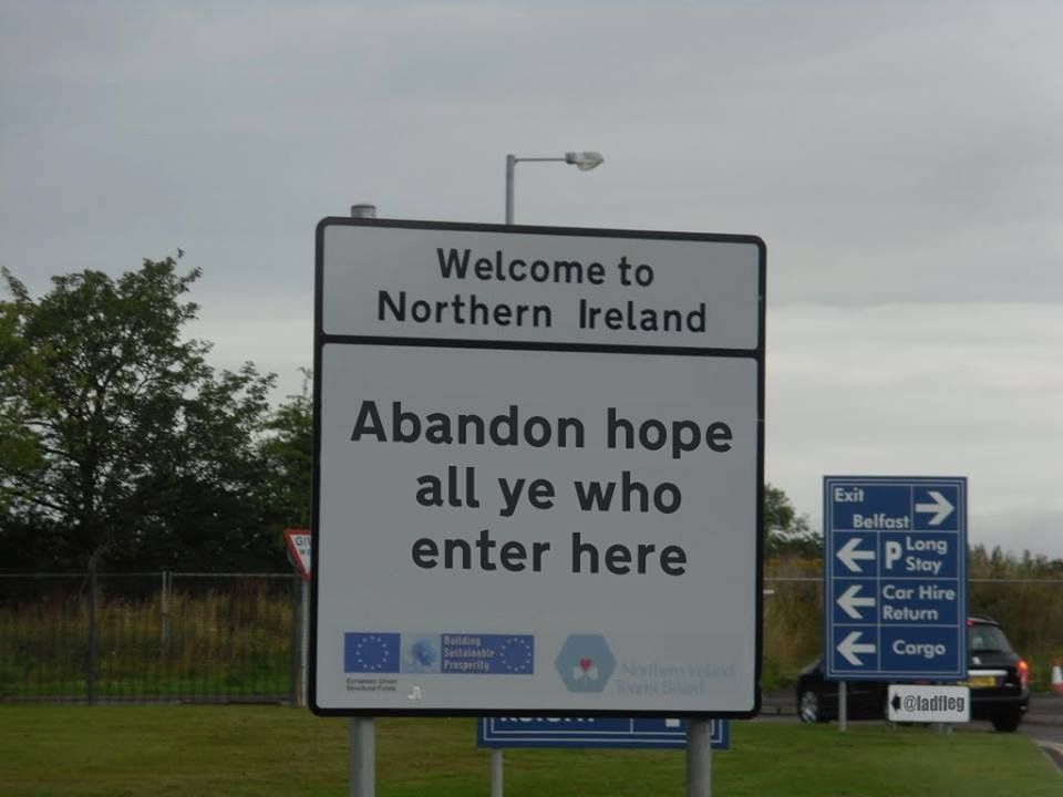 Oi folks! Abandon hope