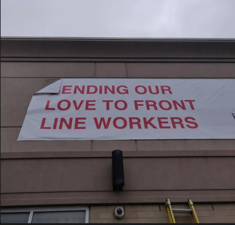 screw you frontline workers!
