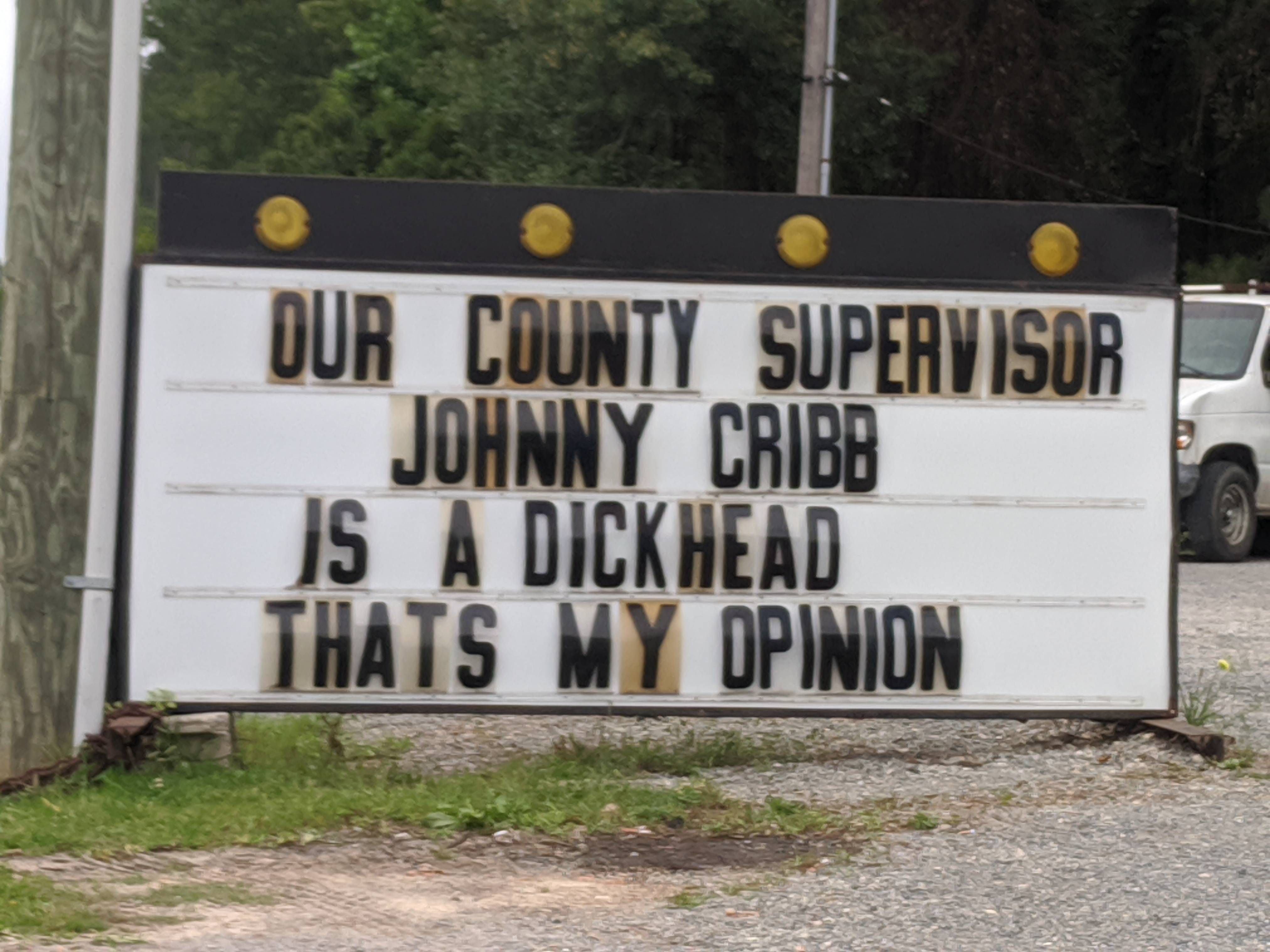 Local business has opinions