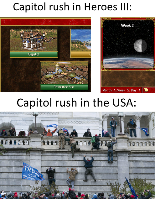 and as we all know, capitol rush is for NOOBS