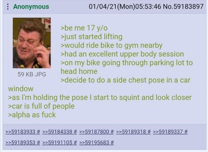 Anon puts on a show
