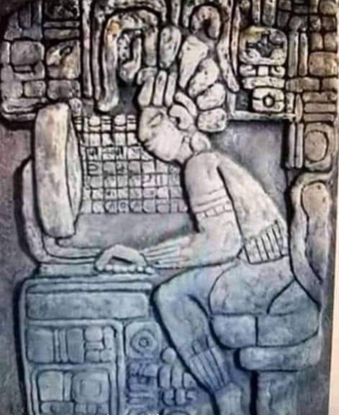 Just a normal Mayan salaryman