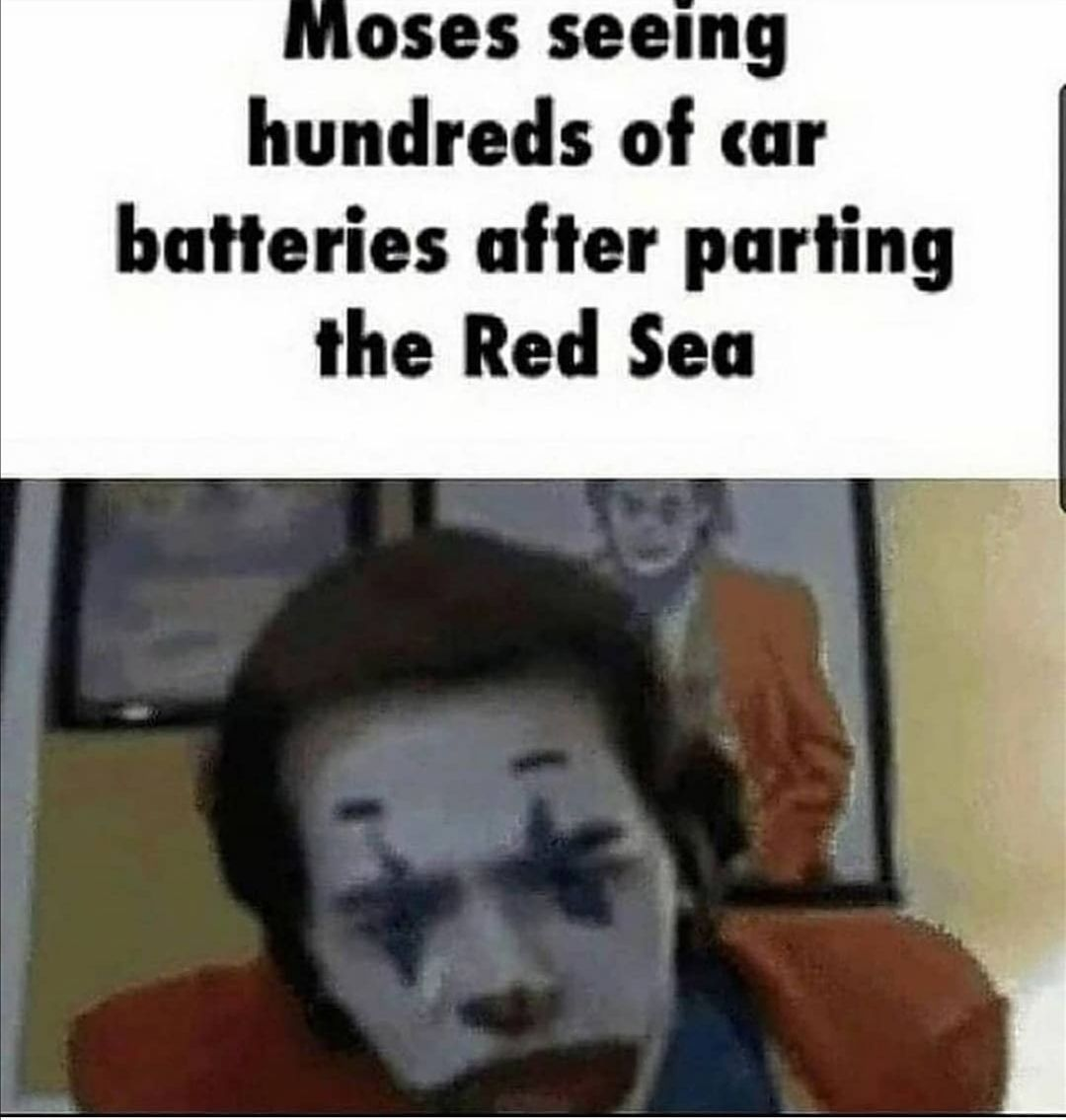 tfw you put hundreds of car batteries BACK in the ocean when unparting it