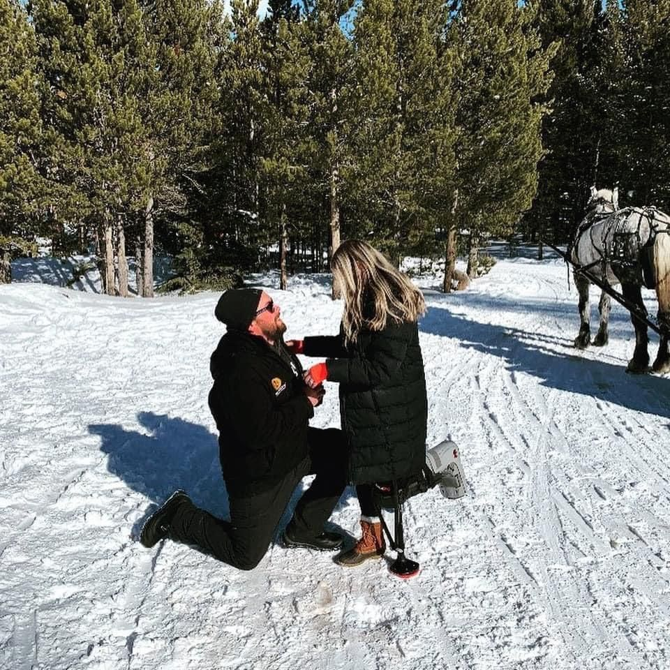 I asked my girlfriend to marry me on NYD; it wasn't until we looked at the pictures that we realized we were both on one knee...