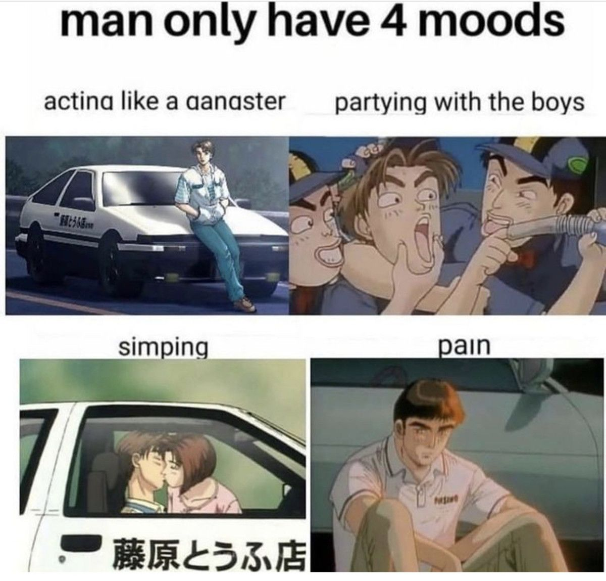 why the only guy who drives grip in the show loses all the time