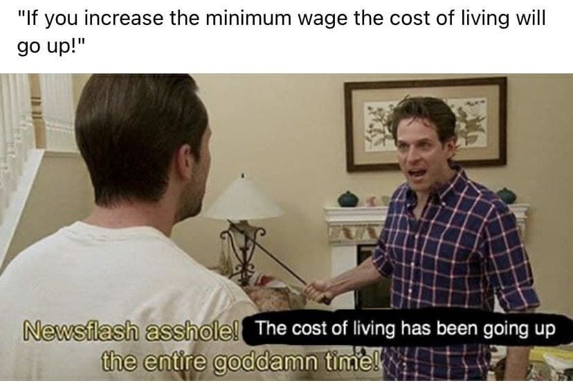 cost of dying stays stable