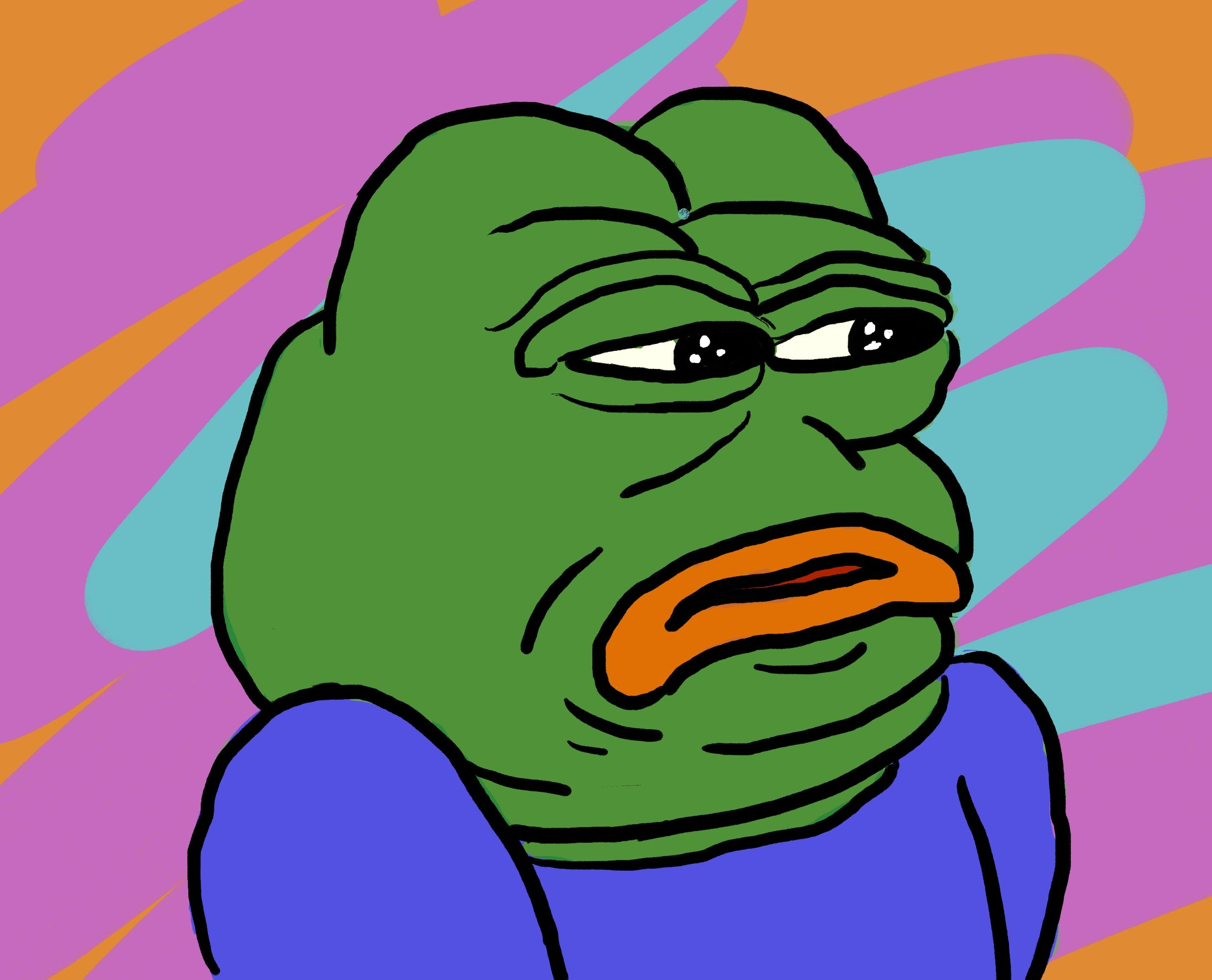 Pepe of Disgust - He appears every time you post cringe