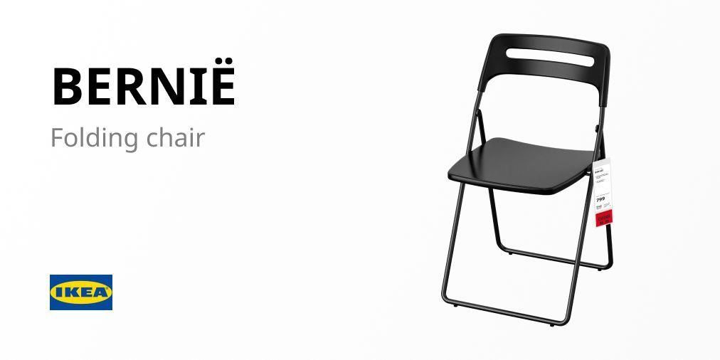 Bernië folding chair