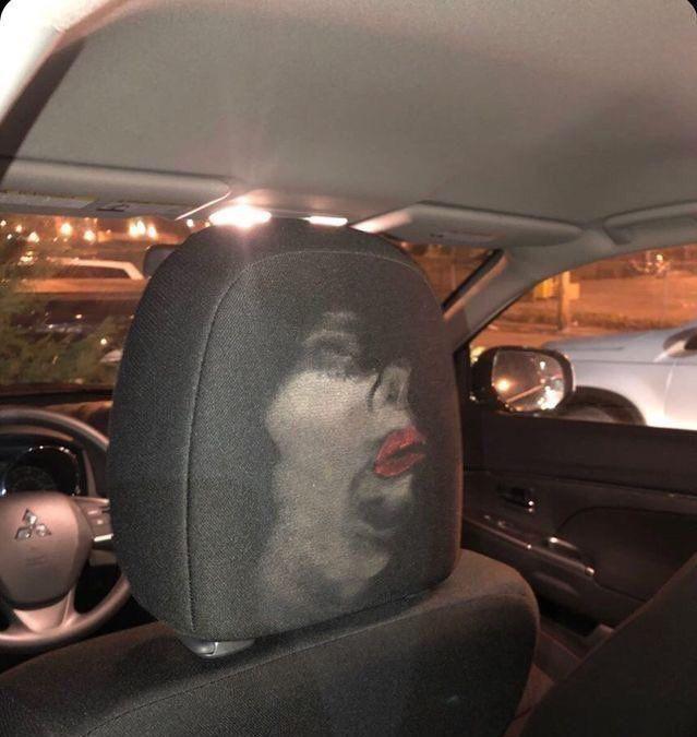 Ladies, always wear your seatbelt.