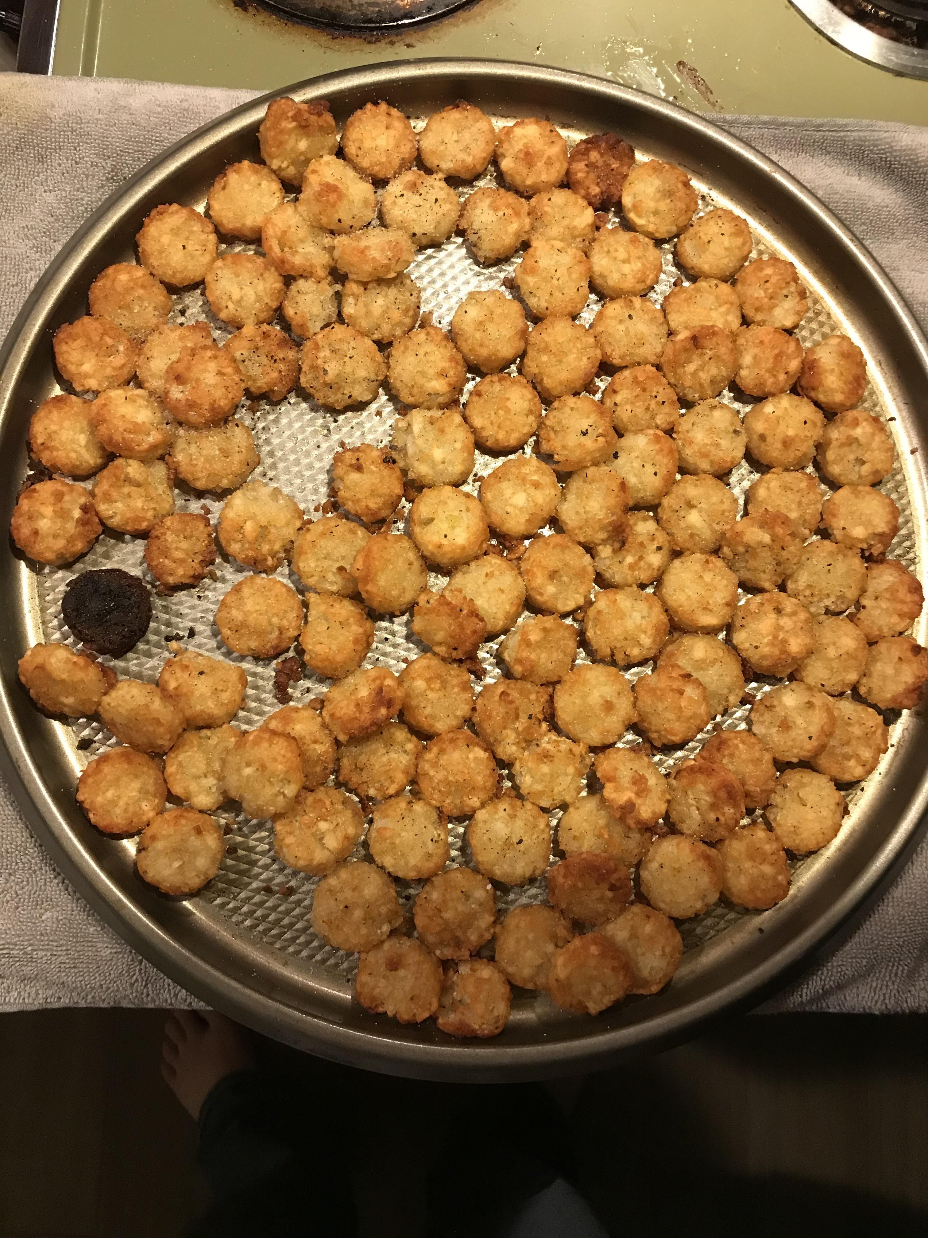 How....how did my oven roast this one tot?