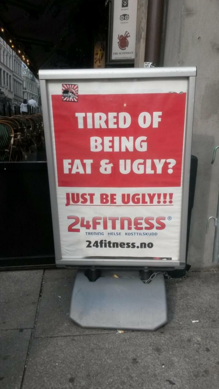This very funny yet true sign